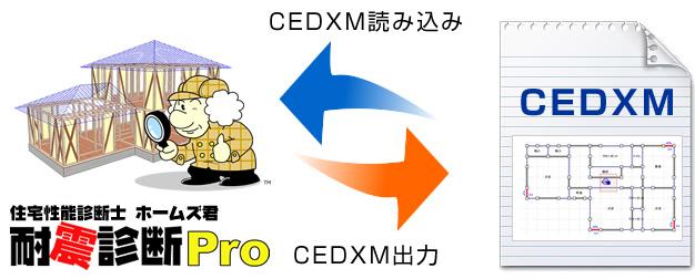 cedxm入出力