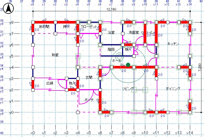 簡単CAD入力で作業効率アップ、判定まで30分