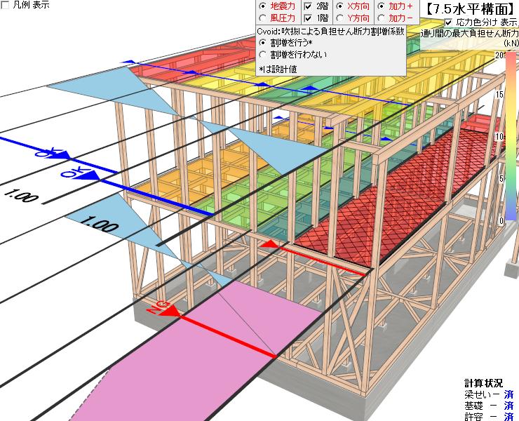 充実の機能:構造3Dビューア