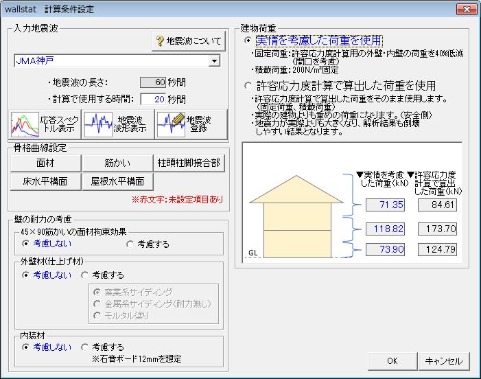 建物モデルの荷重計算