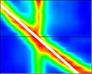 置壁の状態測定結果画面推定線 手前