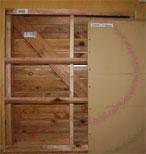 位置壁の状態測定結果画面推定線 奥
