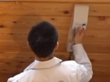 簡単操作で壁を壊すことなく、内部の状況を確認!